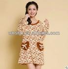 woman homewear dress casual dress ladies home wear stlye