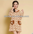 woman homewear dress casual dress ladies home wear stlye