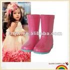 Lovely princess kids rain boots