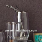 Stainless Steel Large Drink Straws Frozen Smoothies Cocktails Shakes Metal straw stainless steel straws