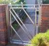 Swing Garden Stainless Steel Gate YG-G6