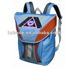 Quality goods mobile power newly solar bag students bag LED warning bag special bag