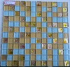 colored-gold glass mosaic using on the decoration