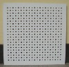 Perforated Perforated, sound absorption Pvc laminated Gypsum Ceiling Tiles