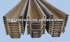 Hot Rolled U-Sheet Piling, Japan Standard Sheet Pile