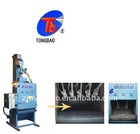 apron automatic sandblasting machine