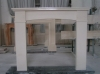 SNS-LX-SY0081 Fireplace (fireplace mantel, marble fireplace)
