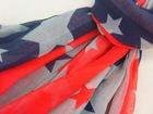 star flag style spring summer beach scarf