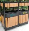 2012 Newest Wpc dustbin for ourdoor,waterproof uv resistance