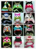 In Stock owl hat sock monkey hat animal hat character hat
