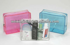 Factory pvc cosmetic bag zipper case for promotion gift package bag
