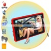 Internal 4GB Flash Memory 5 inch touch screen GPS