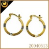 Golden earring designs for women gold ear tops designs basketball wives earrings