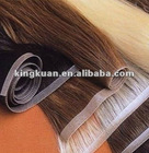 High quality 24inch 100% human hair PU hair weave/skin weft seamless hair extensions
