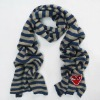 designer cute knitted tube scarf