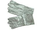 Aluminum foil gloves
