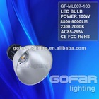 High power 100w manufacturer highbay Light
