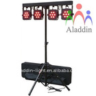 AL-P702 high power led 4 heads par light