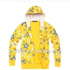 All star yellow cotton hoodies