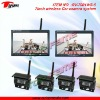 RV-7001WS-5 2.4GHz wireless car rearview system with LED screen & CMOS camera
