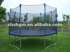 Round Trampoline With Inside Safety Net