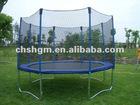 Round Trampoline With Inside Safety Net