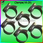 Clamps for CNG kits