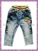 Children trousers ,kids 2012 new style jeans
