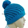 ladies' fashion knitting patterns hats