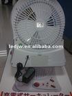 power led rechargeable fan