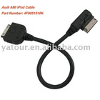 Audi AMI Cable with iPod/iPhone Adapter for MMI 3G 4F0051510K