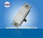 15A 125VAC PC Material Single Pole Wall Switch