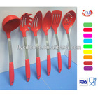 Set of 6-piece Dolls Cooking Tool Set Silicone Kitchen Utensils