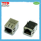 10/100Base-TX Single Port Tab-Down RJ45 Connector W/Transformer W/LED