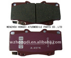 A457K (04466-65010) Hot Toyota Brake Pads