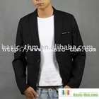 Rivet Decorated Long Sleeve Fashion Man Suit