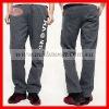 men cotton track pants