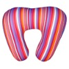 u shape micro beads stuffed neck pillow travel pillow