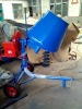 Electric mobile cement mixer