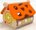 Wood Toys House Building Blocks