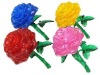 3D crystal rose/Jigsaw Puzzle/intelligence toys