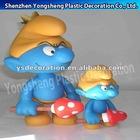 plastic Smurfs action figure kids toys/PVC smurfs children toys