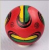 color rubber football
