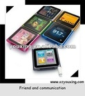 "(YX-MP119C) 6th generation 1.8"" touch screen mp4 player"