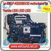 La-4981P K000080430 motherboard for Toshiba L500 L550 L505 Laptop motherboard , systerm board , mainboard