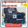 La-4981P K000080430 motherboard for Toshiba L500 L550 L505 Laptop motherboard , systerm board , mainboard