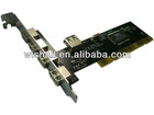 5 Port USB 2.0 to PCI Card 480 Mbps High Speed 4 External 1 Internal port