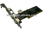 5 Port USB 2.0 to PCI Card 480 Mbps High Speed 4 External 1 Internal port