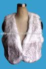 Fashion ladies faux fur vest coat