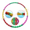 Multifunctional exercise weighted massage hula hoop for body fitness